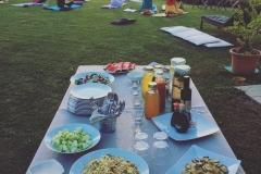 Buffet Vegetariano Santa Valeria Wines